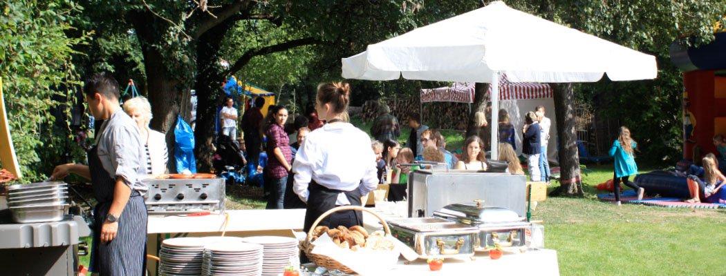 Sommerfest mit Catering bei der Zirkusscheune